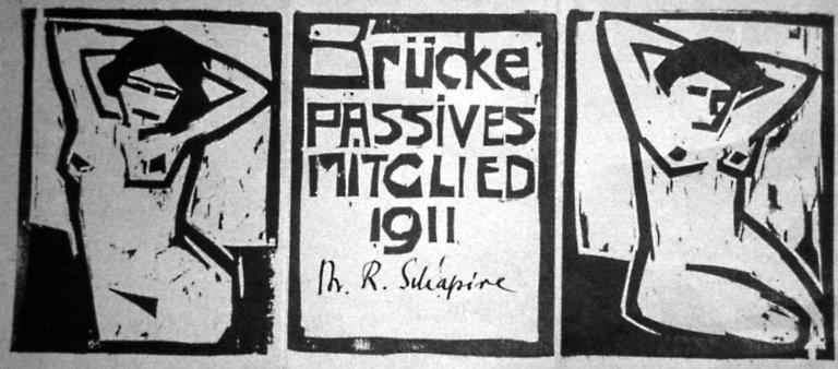 Membership Card for Die Brucke