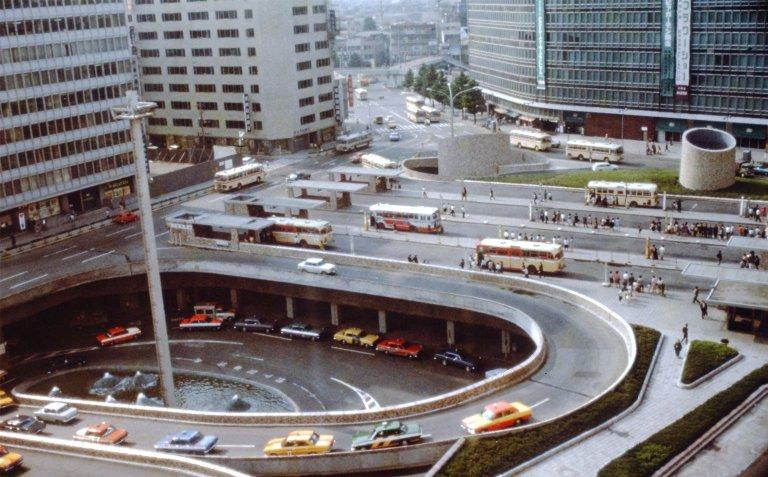 Shinjuku Station Square