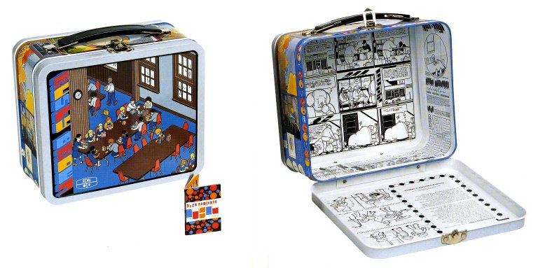 Rusty Brown Lunch Box